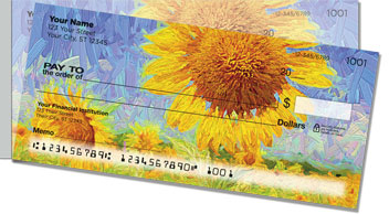 Sunflower Bloom Side Tear Checks