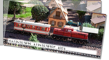 Model Train Side Tear Checks