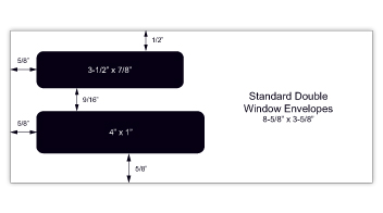 Gummed Standard Check Envelopes